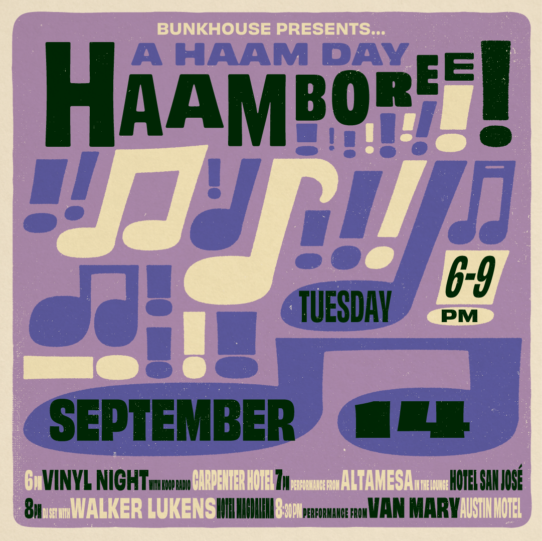 Poster for A HAAM Day HAAMBOREE: Walker Lukens + Special Guests on the Event Lawn